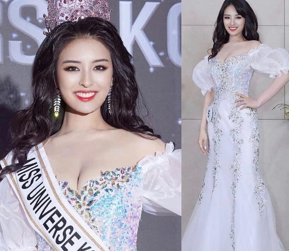Nhan sắc tân Hoa hậu Hoàn vũ Hàn Quốc 2021.