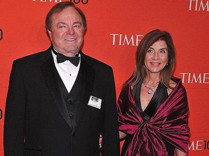 Harold Hamm và Sue Ann Arnall. Ảnh: Daily Mail
