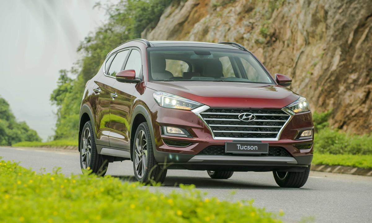 Hyundai Tucson tại Ninh Bình. Ảnh: TC Motor