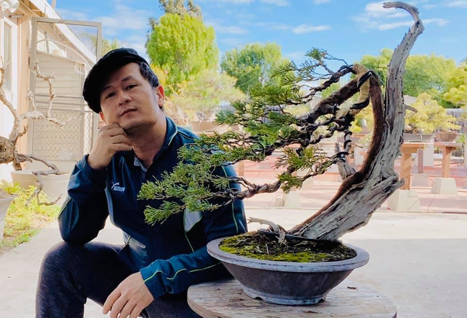 Trong cơ ngơi 2.000 m2 của mình tại bang California (Mỹ), ca sĩ Bằng Kiều