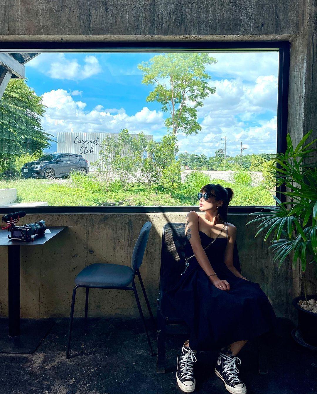 Bên trong quán có nhiều góc chụp đẹp. Ảnh: Instagram Kimico_pp