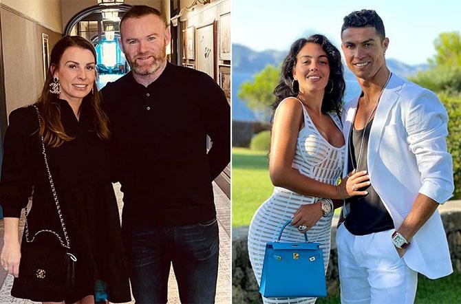 Vợ Rooney (trái) muốn giúp bạn gái C. Ronaldo hòa nhập nhanh với cuộc sống ở Manchester. Ảnh: Instagram Coleen và Georgina