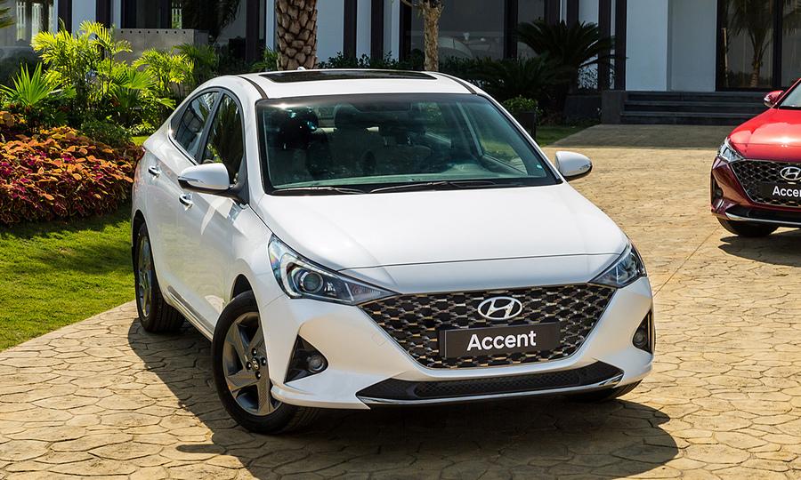 Hyundai Accent tại Ninh Bình. Ảnh: TC Motor