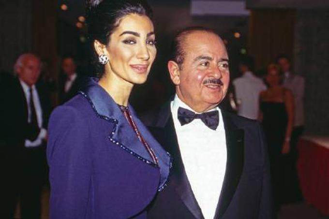 Soraya Khashoggi và Adnan. Ảnh: Imago