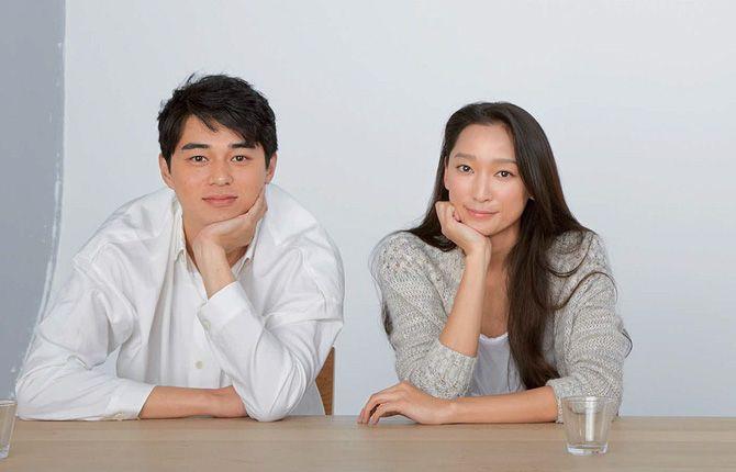 Higashide và vợ cũ, Anne Watanabe.