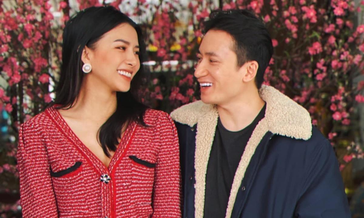 Phan Mạnh Quỳnh tận hưởng cuộc sống vợ chồng son